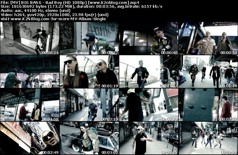 [MV] BIG BANG   Bad Boy (HD 1080p Youtube)