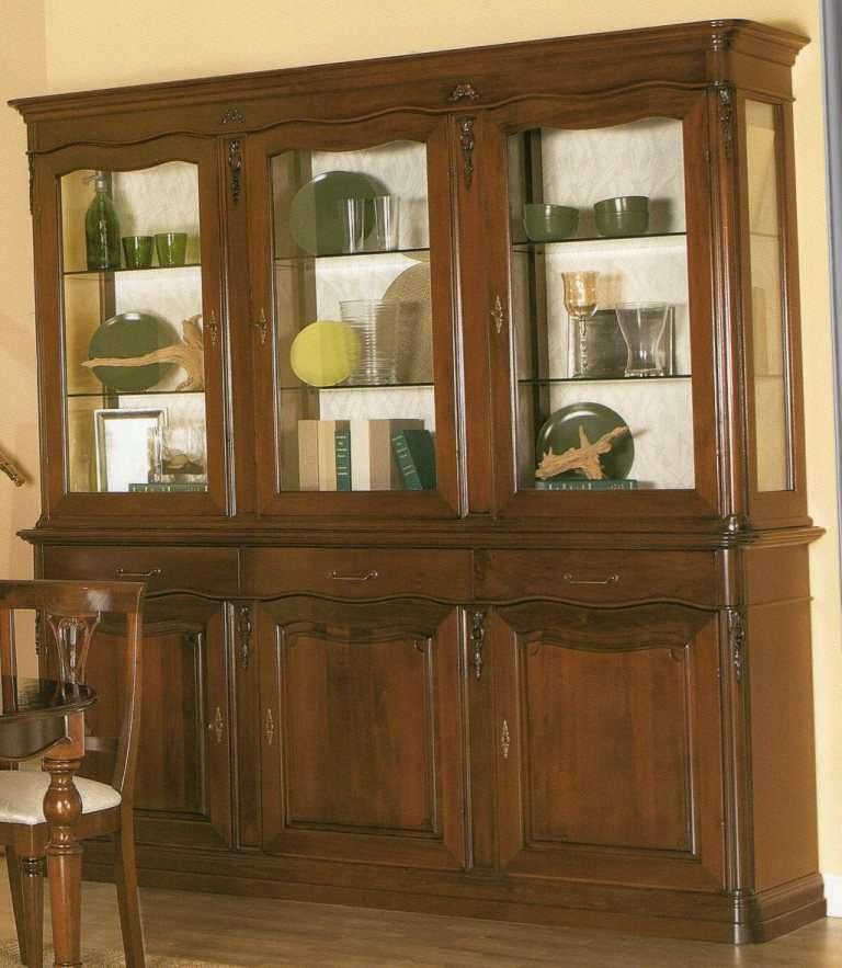 Credenze cucina good vetrina cucina e designs credenza legno pino massiccio naturale ante with - Credenze basse ikea ...