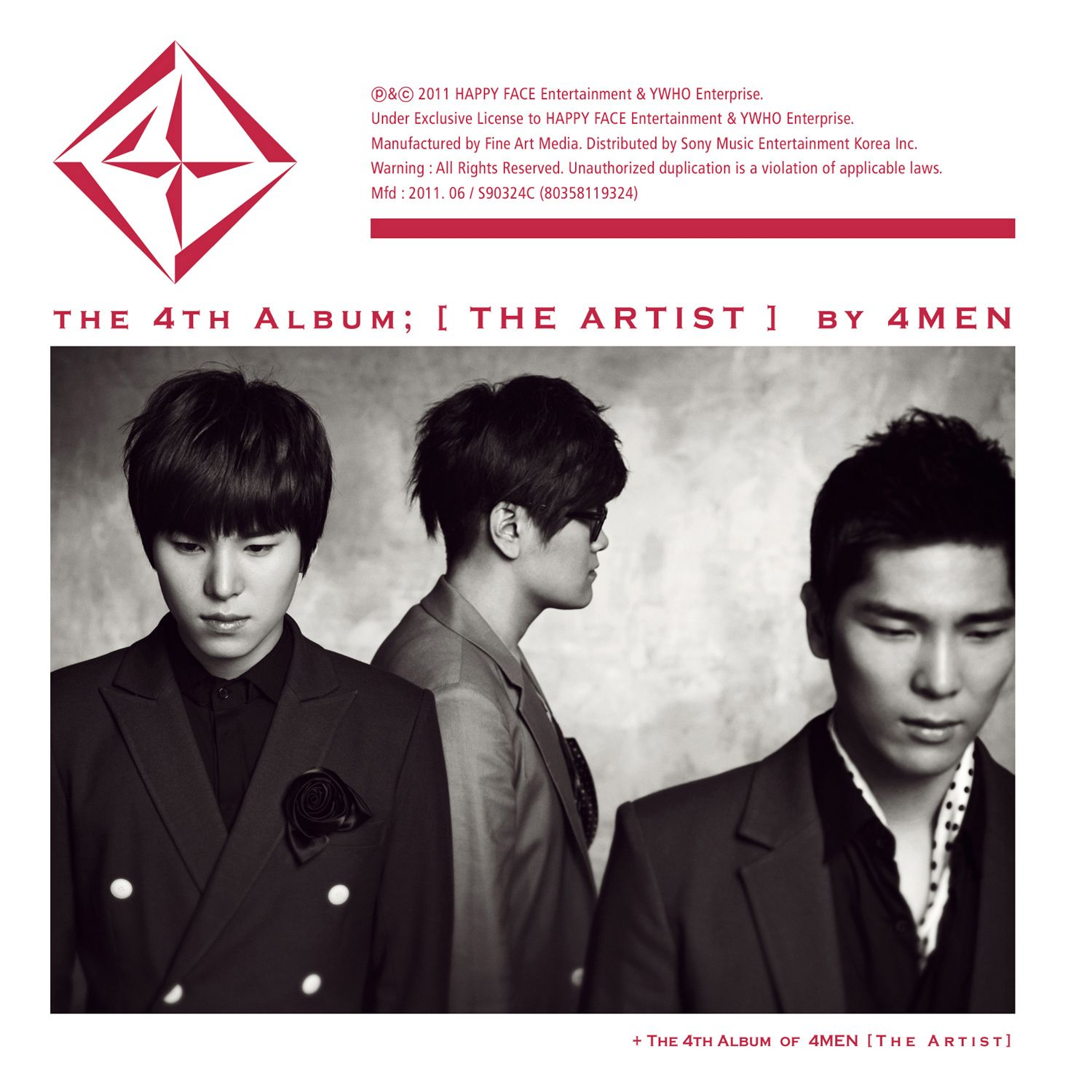 [Album] 4men   The Artist
