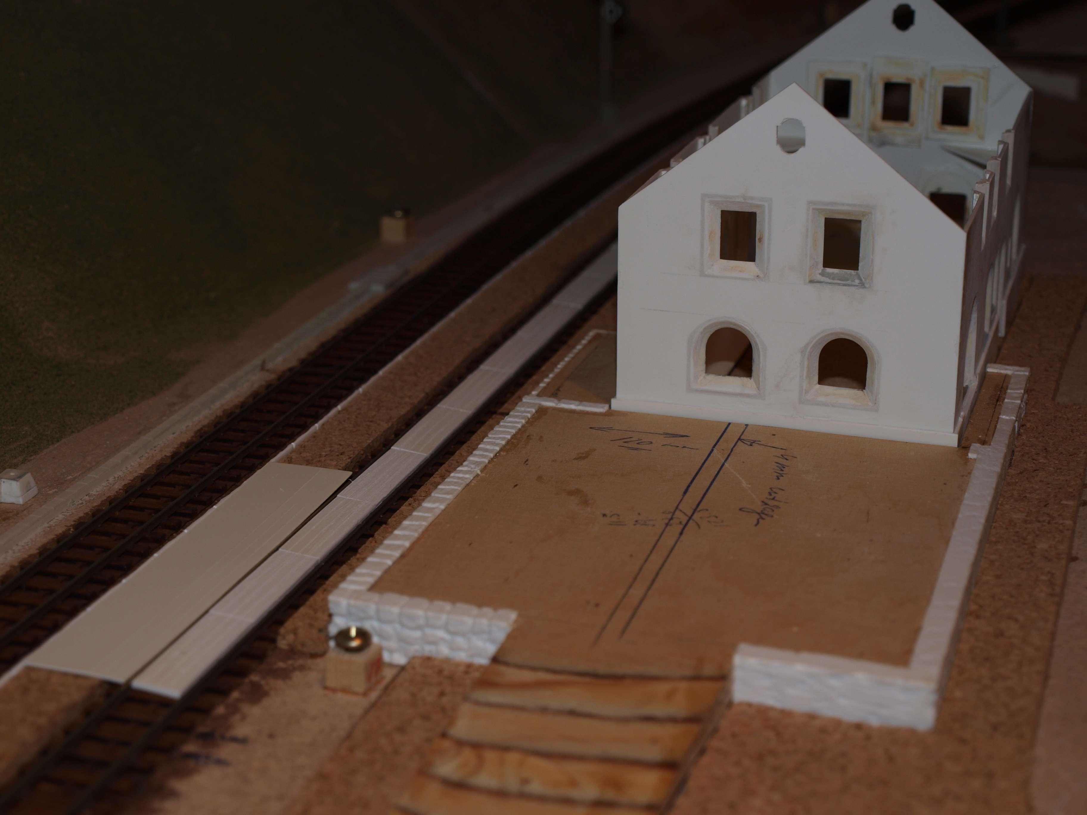 modellbahn gebäude selbstbau