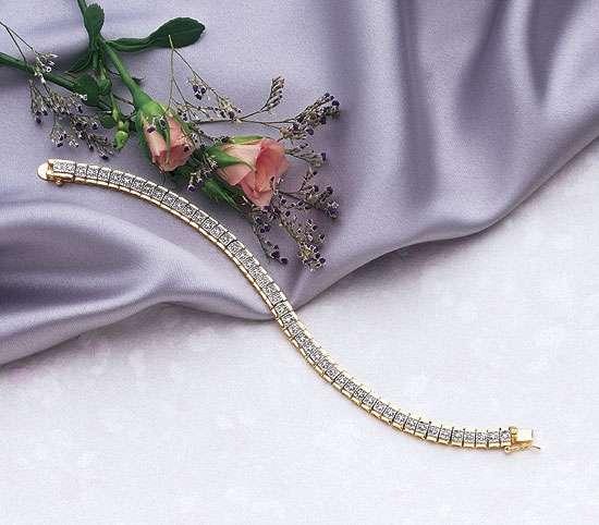 Carat Diamond Tennis Bracelet